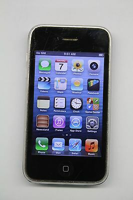 Apple iPhone 3GS - 16GB - Black (AT&T) Smartphone *FAIR CONDITION*