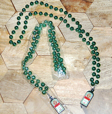 LOT OF 2 NEW JAGERMEISTER BEADED NECKLACE Mardi Gras Party Beads JAGER