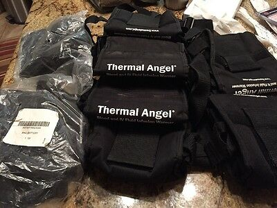 Set 8 Thermal Angel TA-UOM Portable IV Fluid Infusion Warmer Battery Bags