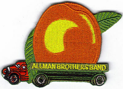 Allman Brothers Band Peach Embroidered Patch !