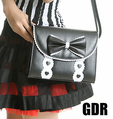 6 COL SWEET LOLITA GOTHIC LOVER 020298 2WAY HAND BAG