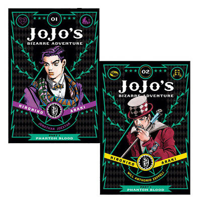 Horihiko Araki Fantasy 2 Books Collection Set Jojo's Bizarre Adventure