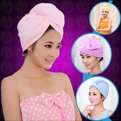 The new quick-drying microfiber hair towel wrapped turban , free shipping