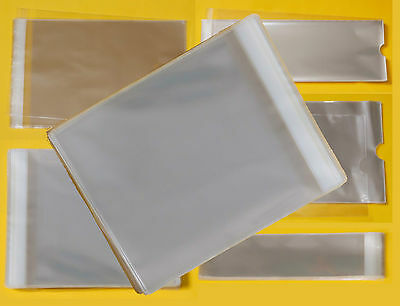 Clear Cello Picture Photo Mount Bags - Cellophane Display Bags for Mounted Art