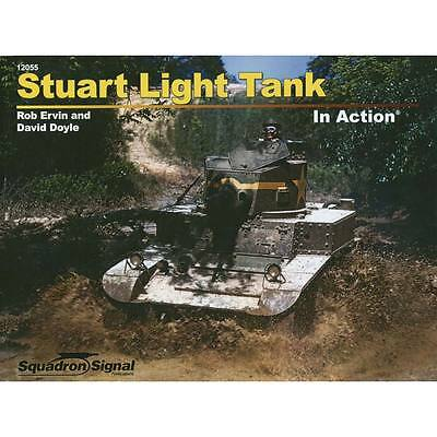 NEW Squadron/Signal Stuart Light Tank In Action (Paperback) 12055