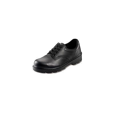 1 X Contractor Black Safety Shoe Size 7 Workwear Protects Garage Warehouse Safe