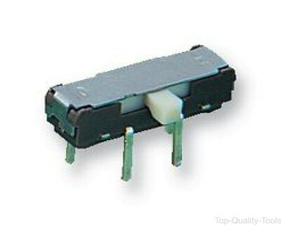 SLIDE SWITCH, 2POLE, 2 POS, HORIZ, Part # STSSS2222