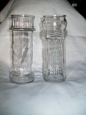 COLLECTIBLE Set of 2 Red Lobster Lighthouse Drinking Glasses