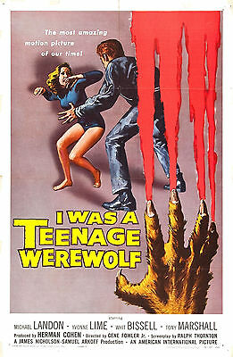 I WAS A TEENAGE WEREWOLF,TEENAGE FRANKENSTEIN, TEENAGER FROM OUTER SPACE