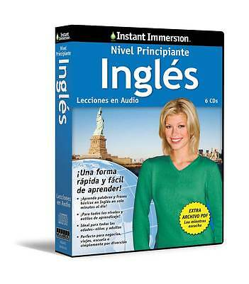 New 6 CD Beginning ENGLISH INGLES Language + Transcripts (Learn in Your Car)