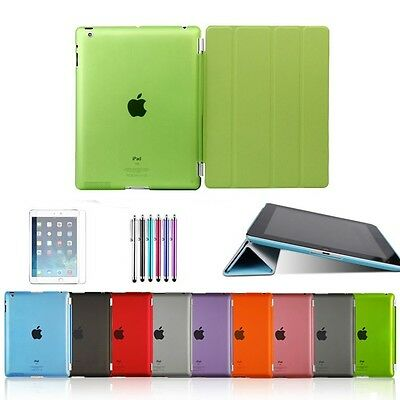 Ultra Sottile di Peso Leggero Custodia in Pelle Per iPad 4 3 2 Smart Cover NEW