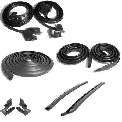 69-72 Buick Chevy Oldsmobile A Body Weatherstrip Seal Kit 9 Pieces Metro New
