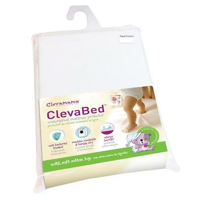 Clevamama Clevabed Fitted Mattress Protector for Cots (120x60cm)