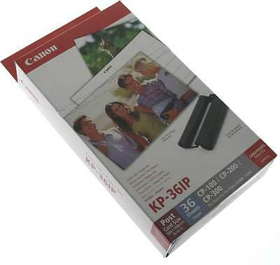 Genuine Canon KP-36IP Ink Cartridges 36 Sheets of Paper for Canon Selphy CP 910