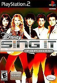Disney Sing It Pop Hits (Playstation 2 Game) PS2