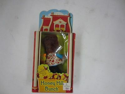 Vintage 1975 Mattel 9713 Honey Hill Bunch CURLY Q Doll nrfb aa african amercan