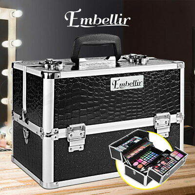 Embellir Beauty Case Makeup Case Bags Box Portable Cosmetics Christmas Gift