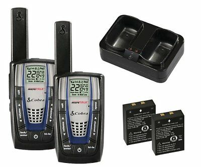 Cobra Microtalk Cxr825 Two Way Radio 22 Gmrs/frs - 158400 Ft