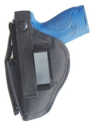 Gun Holster Hip Belt for S&W M&P SHIELD M2.0 9mm & 40 Cal. Built-in Mag Pouch