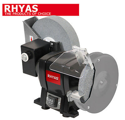 Rhyas Wet and Dry Bench Whetstone Honing Grinder 250W