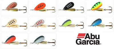 Abu Garcia Droppen Spinner Lures 6g 8g 12g All Colours