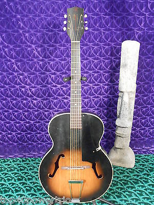 "Harmony H954 Broadway Archtop ""F"" Hole Guitar Vintage 1964! RARE!"