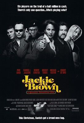 JACKIE BROWN movie poster QUENTIN TARANTINO - 11 x 17 inches