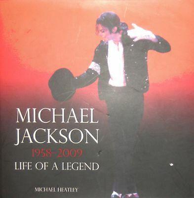 Michael Jackson 1958-2009 LIFE OF A LEGEND, BRAND NEW with 200 PHOTOS Immed Post