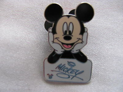 Disney Trading Pins 41794: WDW Cast Lanyard Collection 4 - Mickey's Autograph (W