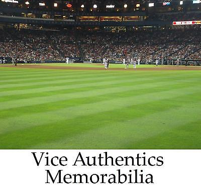4 Los Angeles Dodgers vs Atlanta Braves 1st Row Outfield Tickets 7/21 July 21