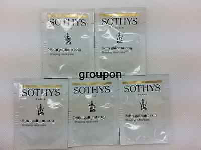 Lot of 10pcs Sothys Shaping Neck Care Sample Free Shipping