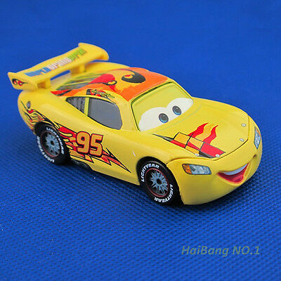 Mattel Disney Pixar Cars 95 Lightning Mcqueen Spain Diecast Vehicle Car Toy QY