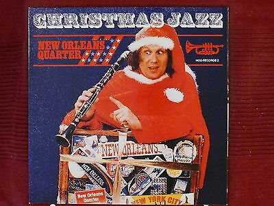 LP New Orleans Quarter Christmas Jazz     NOQ-RECORDS 2    red Vinyl