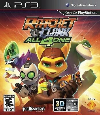 RATCHET AND CLANK: ALL 4 ONE  - Sony Playstation 3 Game!