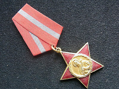 Albanien Orden vom Rotenstern in Gold Order of the Red Star