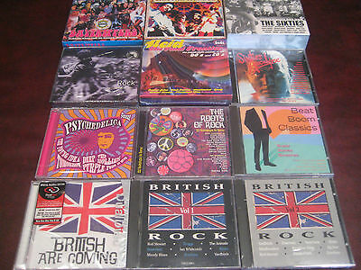 British Rock 60's Collection Of 26 Cd's  400 Tracks All Original Artists Set