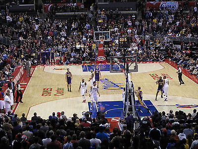 2 Los Angeles Lakers vs Los Angeles Clippers Tickets 4/7/15 - Aisle Seats!!!