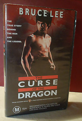 The Curse of the Dragon - Bruce Lee VHS