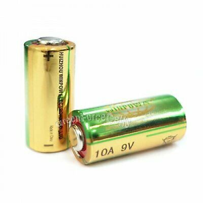 2 pcs 10A 9V L1022 Alkaline Single Use battery For Remote Doorbells Lighters