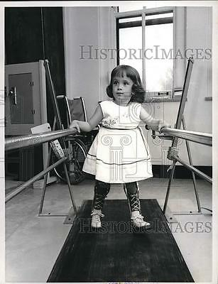 1963 Press Photo Mary Lou Graves Flint Michigan March Of Dimes Child
