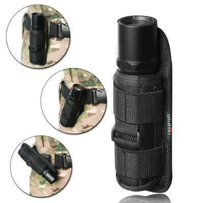 Tactical flashlight pouch/Holster Stretch Light Holder for hiking camping sports