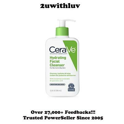 Cerave Hydrating Cleanser Normal To Dry Skin 355Ml Free & Fast Post!