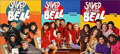 NEW Saved by the Bell Seasons 1-5 Season 1 2 3 4 5 DVd Complete Series + 2 movie