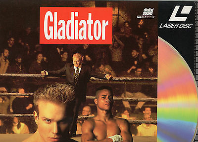 GLADIATOR - Cuba Gooding Jnr. - LASER DISC - NEW - NEVER PLAYED!! - VERY RARE!!