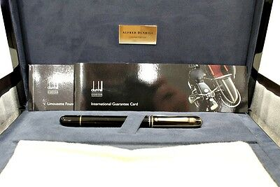 "*jcr_m* ALFRED DUNHILL FOUNTAIN PEN ""LIMOUSETTE"" LIMITED EDITION *UNUSED*"