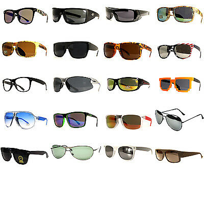 50 Pair Men Fashion Desinger Retro Vintage UV 100% WHOLESALE LOTS SUNGLASSES