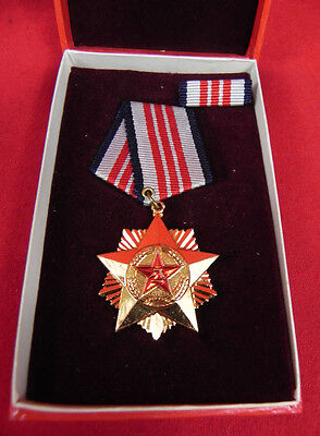Original  Chinese Meritorious Service Medal Third Class in original Box