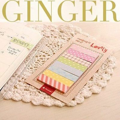 Cute 160 Pages Sticker Post It Bookmark Point It Marker Memo Flags Sticky Notes