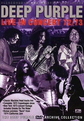 Deep Purple Archive Collection:  Live in Concert 1 DVD Region ALL