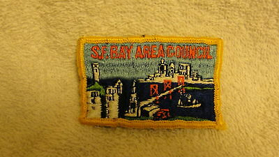 S.F.BAY AREA COUNCIL VINTAGE RARE OLD BSA PATCH